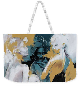 Backstage - Beauties Sharing Secrets - Weekender Tote Bag