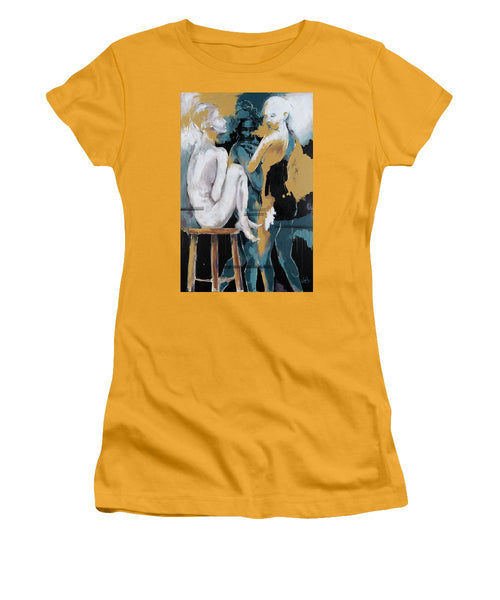 Backstage - Beauties Sharing Secrets - Women's T-Shirt (Athletic Fit)