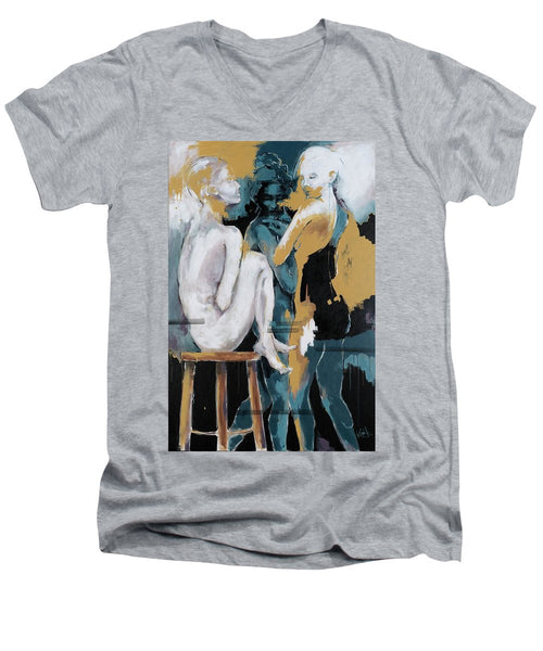 Backstage - Beauties Sharing Secrets - Men's V-Neck T-Shirt