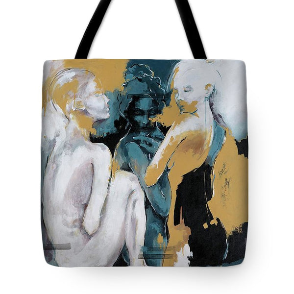 Backstage - Beauties Sharing Secrets - Tote Bag