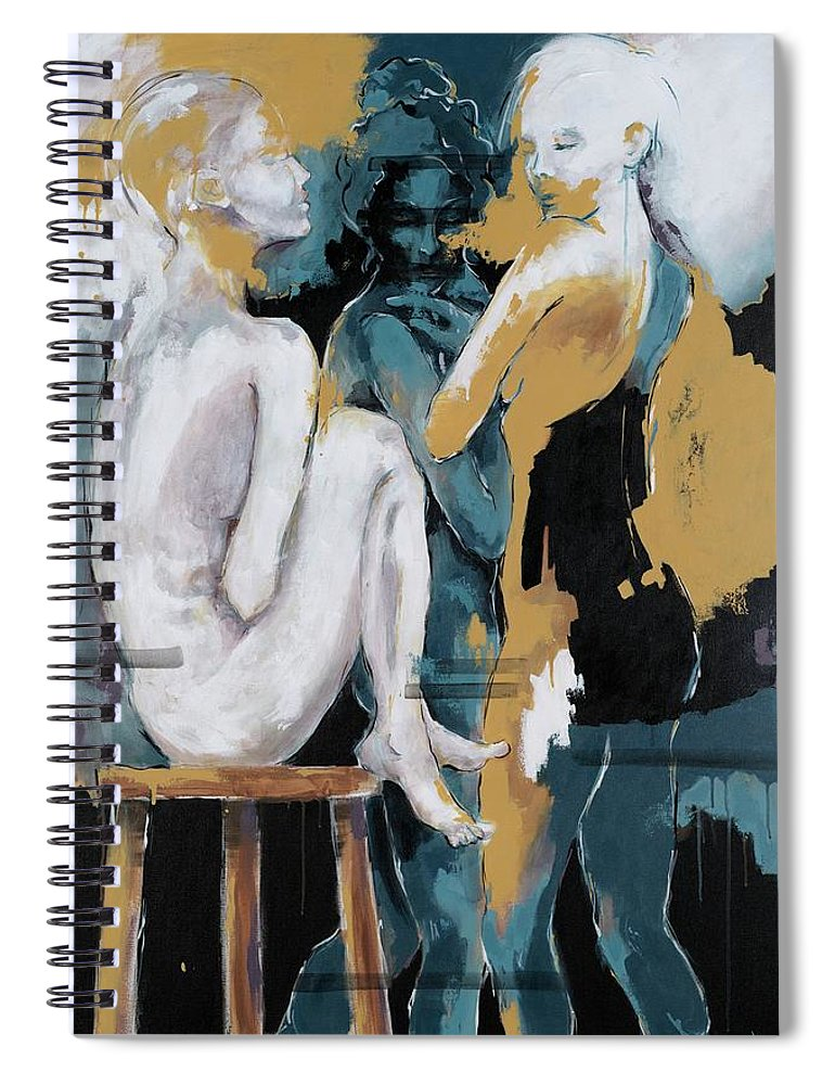 Backstage - Beauties Sharing Secrets - Spiral Notebook
