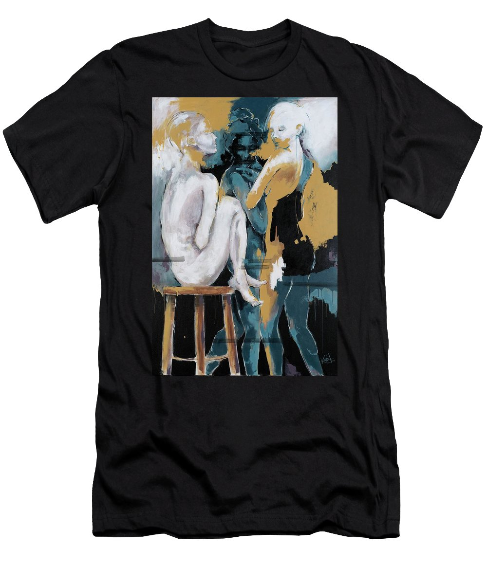 Backstage - Beauties Sharing Secrets - Men's T-Shirt (Athletic Fit)