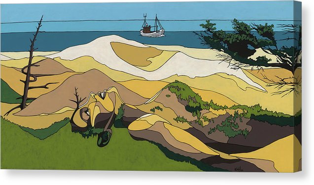 Beaches - Canvas Print