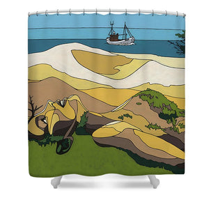Beaches - Shower Curtain