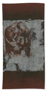 Black Rhino - Bath Towel