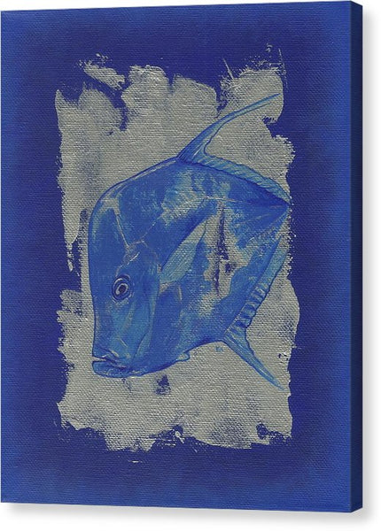Blue Fish - Canvas Print