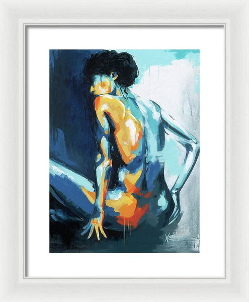 Blue Grace - Framed Print