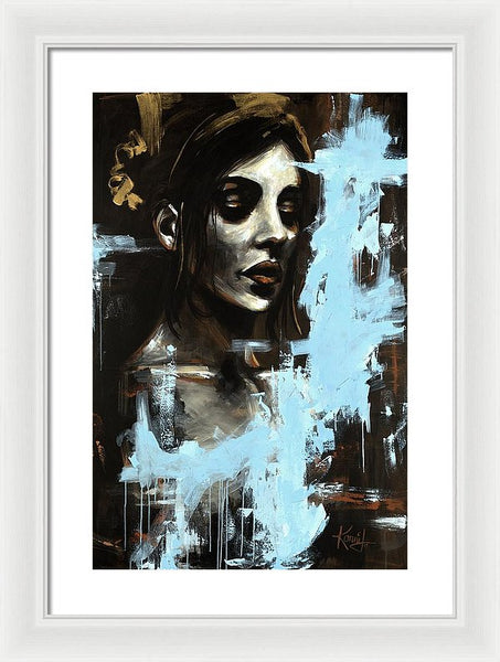 Blue - Framed Print