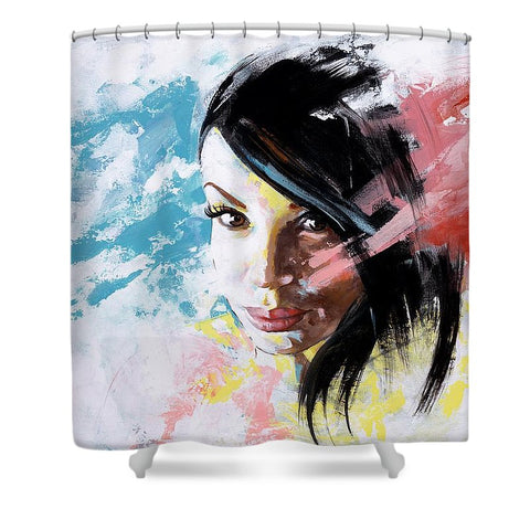 Bridgette - Shower Curtain