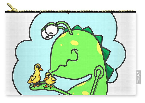 Monster Kissing Ducklings - Carry-All Pouch