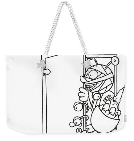 Curious Monster - Weekender Tote Bag