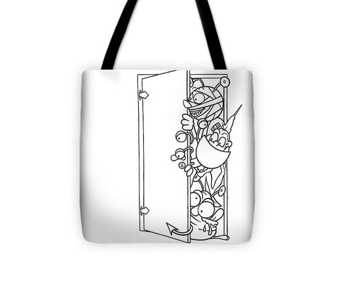 Curious Monster - Tote Bag