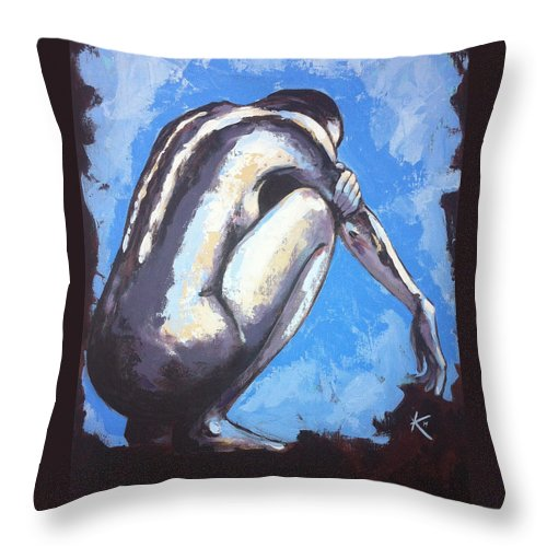 Deep Thought - Throw Pillow