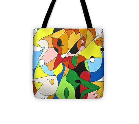 Faces - Tote Bag