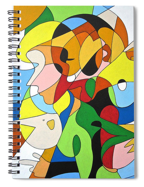 Faces - Spiral Notebook