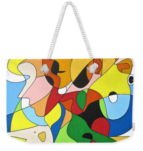 Faces - Weekender Tote Bag