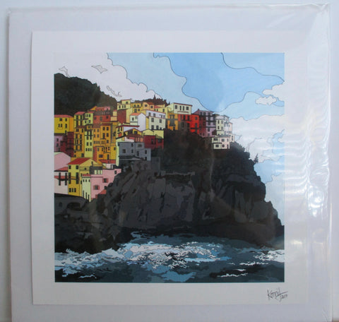 "Print of ""Manarola"" Painting"