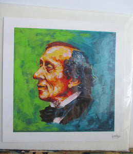 "Print of ""Storyteller - H. C. Andersen"" Painting"