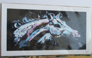 "Print of ""Abstract Horse"" Painting"