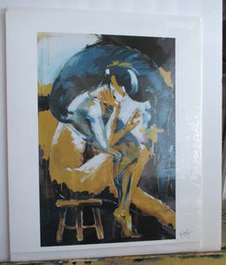 "Print of ""Self Reflection"" Painting"