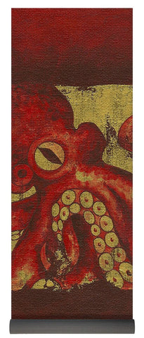 Giant Red Octopus - Yoga Mat