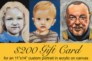 $200 Custom Portrait