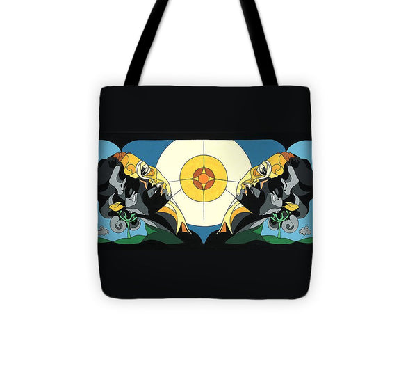 Glow Of Beauty - Painting With Hidden Pictures - Tote Bag