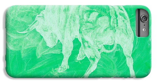 Green Bull Negative - Phone Case