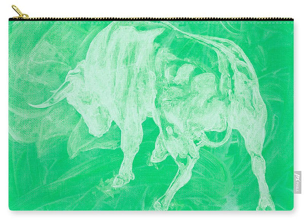 Green Bull Negative - Carry-All Pouch