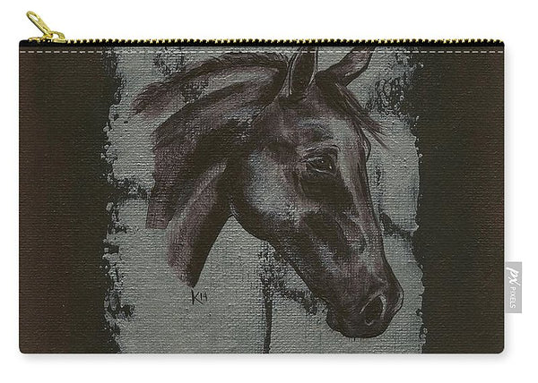 Horse Portrait - Carry-All Pouch