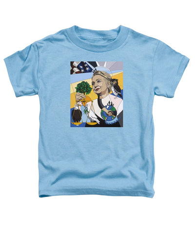 In Honor Of Hillary Clinton - Toddler T-Shirt