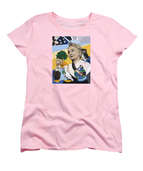 In Honor Of Hillary Clinton - Women's T-Shirt (Standard Fit)