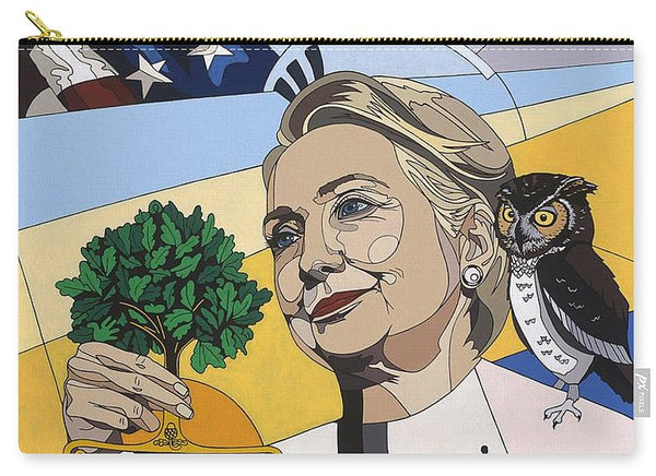 In Honor Of Hillary Clinton - Carry-All Pouch