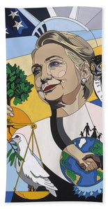 In Honor Of Hillary Clinton - Bath Towel