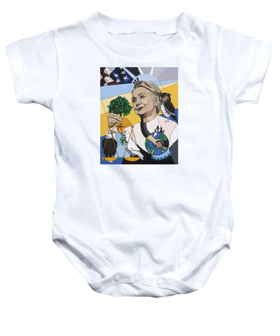 In Honor Of Hillary Clinton - Baby Onesie