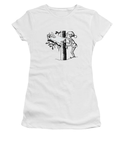 Jack Frost Holiday Card - Women's T-Shirt
