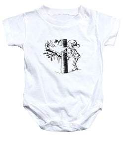 Jack Frost Holiday Card - Baby Onesie