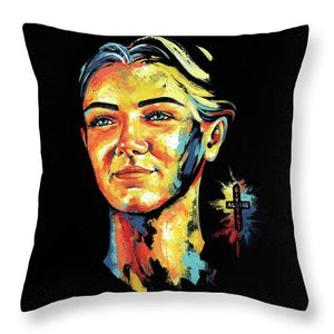 Laerke - Throw Pillow