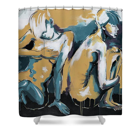 Letting Go - Shower Curtain