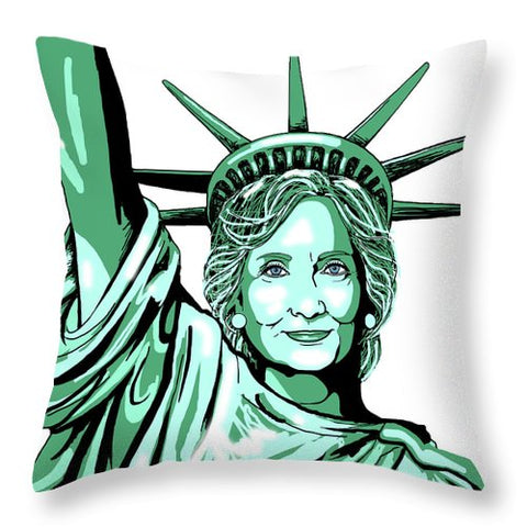 Liberty Hillary - Throw Pillow