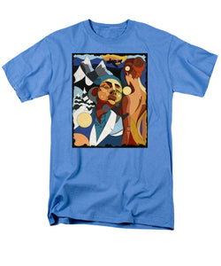 Life Of Roy Painting With Hidden Pictures - Men's T-Shirt  (Regular Fit)