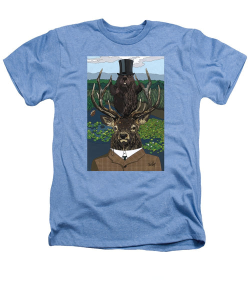 Lord Of The Manor With Hidden Pictures - Heathers T-Shirt