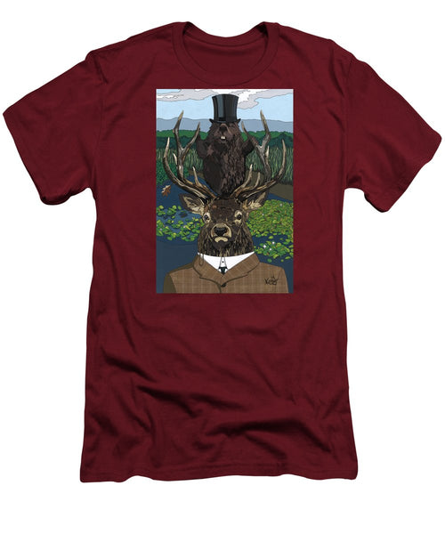 Lord Of The Manor With Hidden Pictures - Men's T-Shirt (Athletic Fit)
