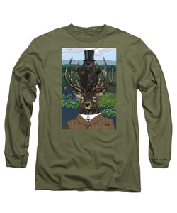 Lord Of The Manor With Hidden Pictures - Long Sleeve T-Shirt