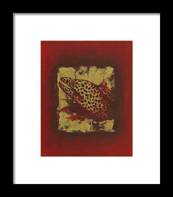 Moray Eel - Framed Print