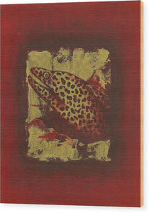 Moray Eel - Wood Print