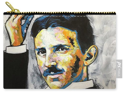 Nikola Tesla - Carry-All Pouch