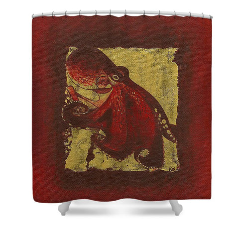Octopus - Shower Curtain