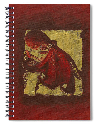Octopus - Spiral Notebook