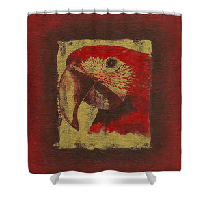 Parrot - Shower Curtain